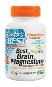DOCTORS BEST BRAIN MAGNESIUM 75MG