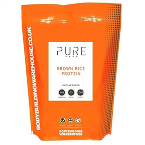 BODYBUILDING WAREHOUSE PURE BROWN RICE PROTEIN CONCENTRATE 80