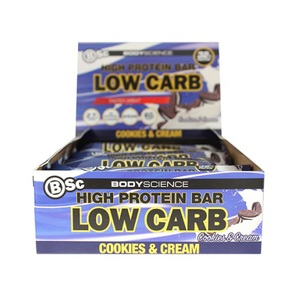 BSC BODY SCIENCE HIGH PROTEIN LOW CARB