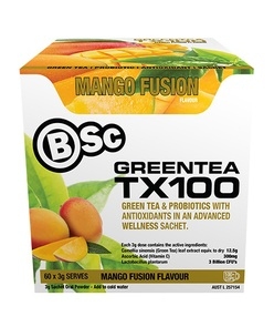 BSC BODY SCIENCE GREEN TEA TX100 60 SERVE