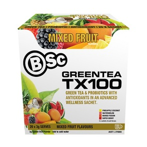 BSC BODY SCIENCE GREEN TEA TX100 20 SERVE COMBO PACK