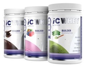 ICNUTRITION WHEY BUILDER MIXED COMBO