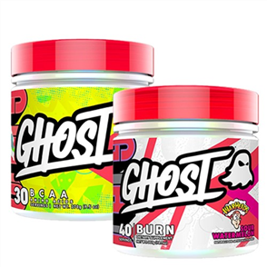 GHOST LIFESTYLE BURN & BCAA COMBO