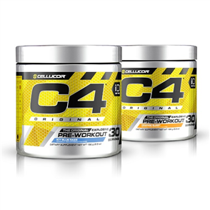 CELLUCOR C4 PRE WORKOUT 30 SERVE DOUBLE COMBO