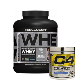 CELLUCOR PERFORMANCE WHEY C4 GEN 4 UPSIZE COMBO