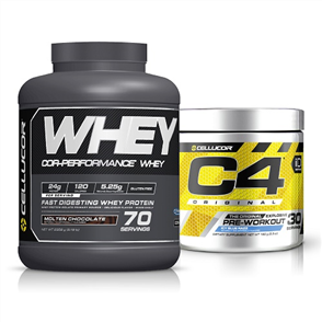 CELLUCOR COR PERFORMANCE WHEY C4 ID ORIGINAL COMBO