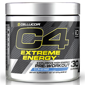 CELLUCOR C4 EXTREME ENERGY ID EXP. END FEB 2020