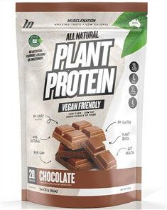 MUSCLE NATION 100% ALL NATURAL PLANT BASED PROTEIN