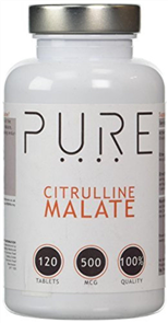 BODYBUILDING WAREHOUSE PURE CITRULLINE MALATE 500MG