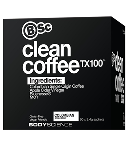 BSC BODY SCIENCE CLEAN COLOMBIAN COFFEE