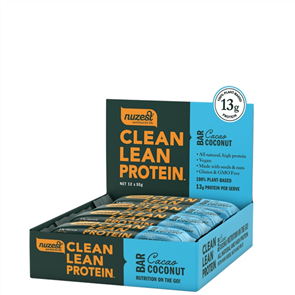 NUZEST CLEAN LEAN PROTEIN BARS