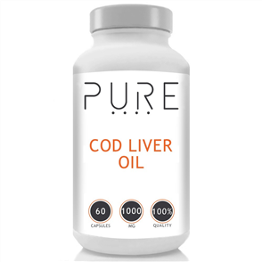 BODYBUILDING WAREHOUSE PURE COD LIVER OIL 1000MG