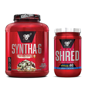 BSN SYNTHA-6 COLD STONE HYPER SHRED COMBO