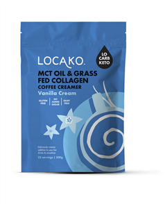 LOCAKO MCT & GRASS FED COLLAGEN COFFEE CREAMER