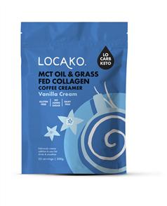 LOCAKO MCT & GRASS FED COLLAGEN COFFEE CREAMER
