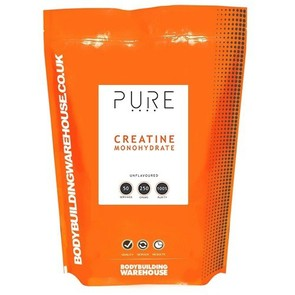 BODYBUILDING WAREHOUSE PURE CREATINE MONOHYDRATE