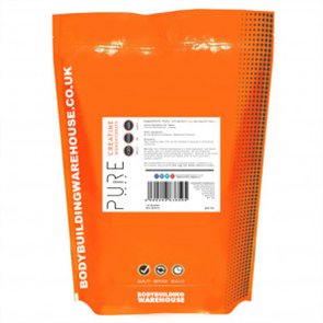 BODYBUILDING WAREHOUSE PURE CREATINE MONOHYDRATE 1000MG