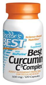 DOCTORS BEST CURCUMIN C3 COMPLEX 500MG
