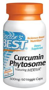 DOCTORS BEST CURCUMIN PHYTOSOME FEATURING MERIVA