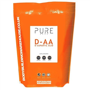 BODYBUILDING WAREHOUSE PURE D-ASPARTIC ACID (DAA) POWDER