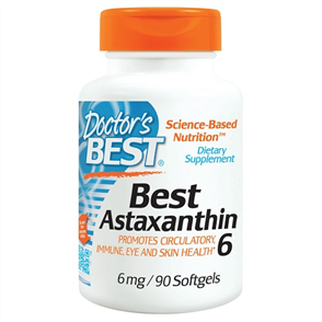 DOCTORS BEST ASTAXANTHIN 6MG