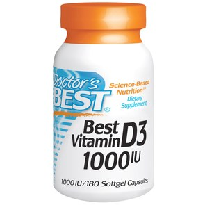 DOCTORS BEST VITAMIN D 1000IU