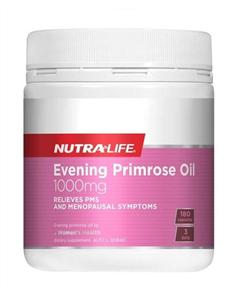 NUTRA-LIFE EVENING PRIMROSE OIL 1000MG