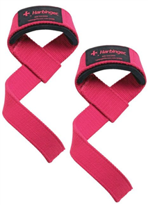 HARBINGER WOMENS PADDED COTTON LIFTING STRAPS