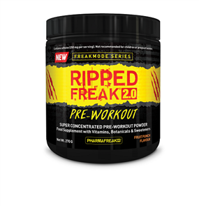 PHARMAFREAK RIPPED FREAK 2.0 PRE WORKOUT
