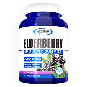 GASPARI ELDERBERRY GUMMIES