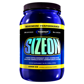 GASPARI SIZE ON MAXIMUM PERFORMANCE