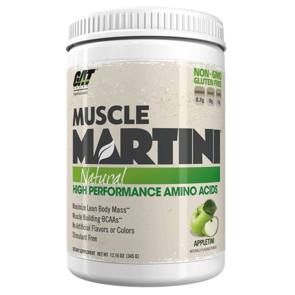 GAT SPORT MUSCLE MARTINI NATURAL
