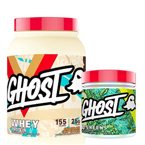 GHOST LIFESTYLE WHEY & GREENS COMBO