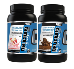 GIANT SPORTS DELICIOUS PROTEIN ELITE DOUBLE COMBO