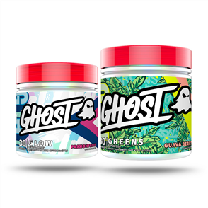 GHOST LIFESTYLE GLOW & GREENS COMBO