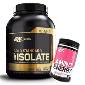 OPTIMUM NUTRITION GOLD STANDARD ISOLATE AMINO ENERGY COMBO