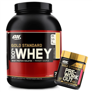 OPTIMUM NUTRITION GOLD STANDARD ADVANTAGE 5LB COMBO