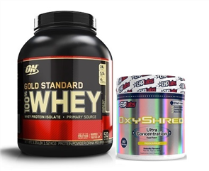 SPRINT FIT GOLD STANDARD OXYSHRED COMBO