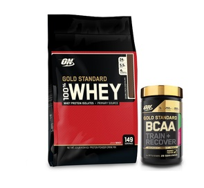 OPTIMUM NUTRITION GOLD STANDARD WHEY & BCAA COMBO
