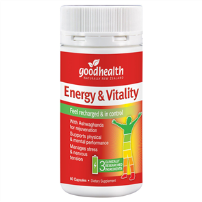 GOOD HEALTH ENERGY AND VITALITY SUPPORT