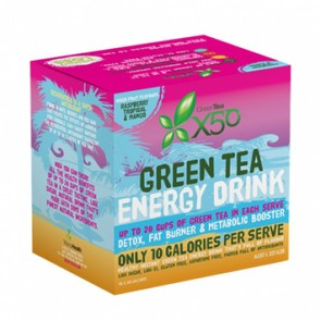 X50 GREEN TEA 90 SERVE FRUIT PACK