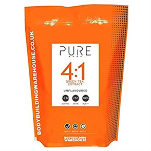 BODYBUILDING WAREHOUSE PURE GREEN TEA 4:1