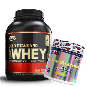 OPTIMUM NUTRITION GOLD STANDARD OXYSHRED COMBO