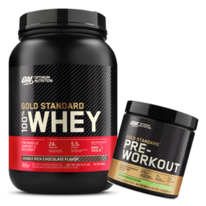 OPTIMUM NUTRITION 100% GOLD STANDARD ADVANTAGE 2LB COMBO