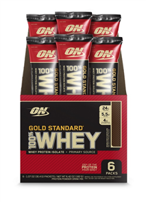 OPTIMUM NUTRITION GOLD STANDARD 100% WHEY STICK PACK