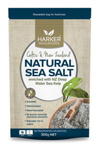 HARKER HERBALS NATURAL SEA SALT