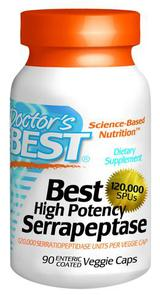 DOCTORS BEST HIGH POTENCY SERRAPEPTASE