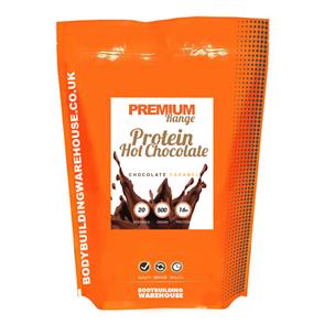 BODYBUILDING WAREHOUSE PREMIUM PROTEIN HOT CHOCOLATE