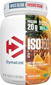 DYMATIZE ISO 100 HYDROLYZED CLEAR