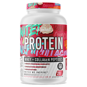 INSPIRED WHEY PROTEIN ISOLATE + COLLAGEN PEPTIDES